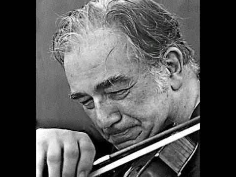 Oscar Shumsky -Ponce Estrellita & Bach Concerto A minor-II