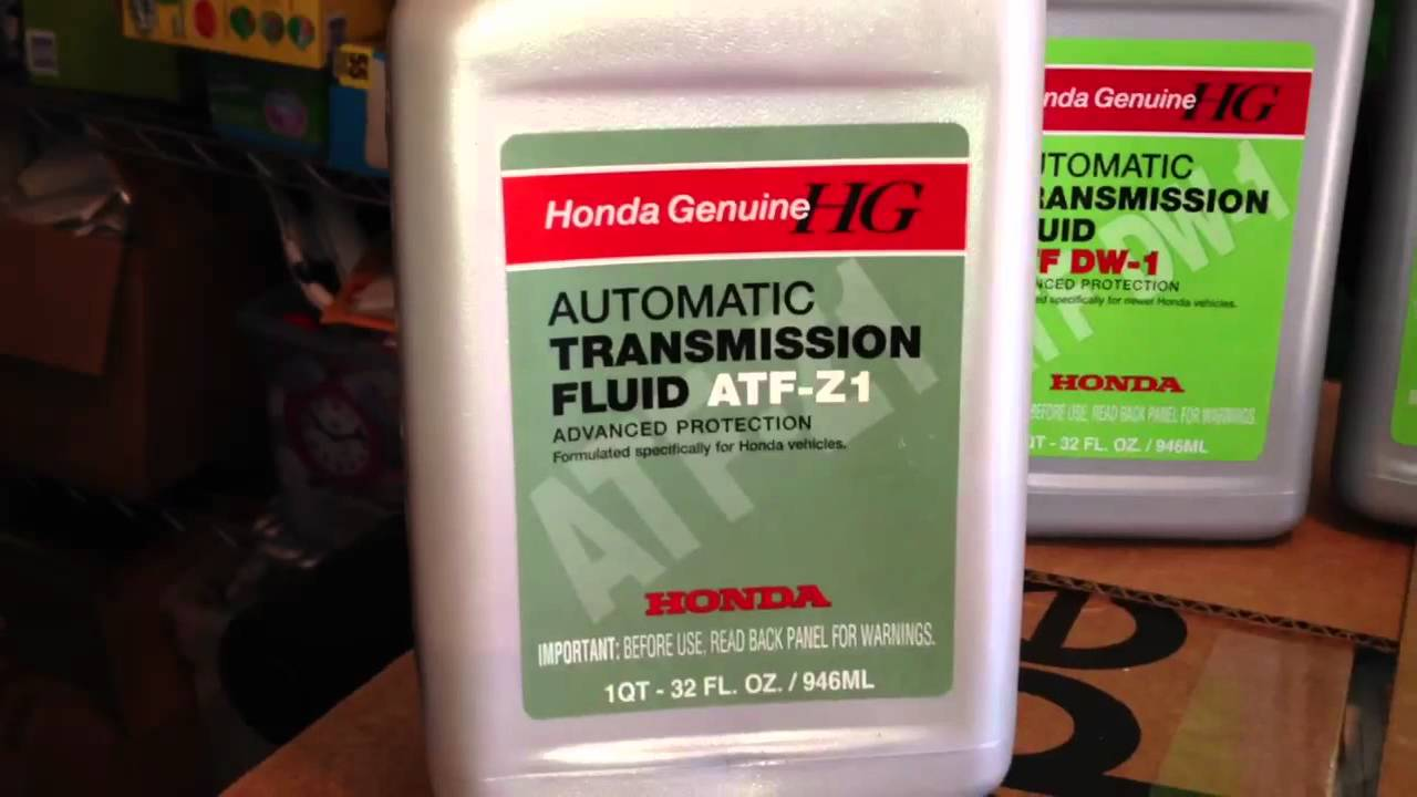 Honda Atf Dw 1 Vs Aft Z1 Automatic Transmission Fluid