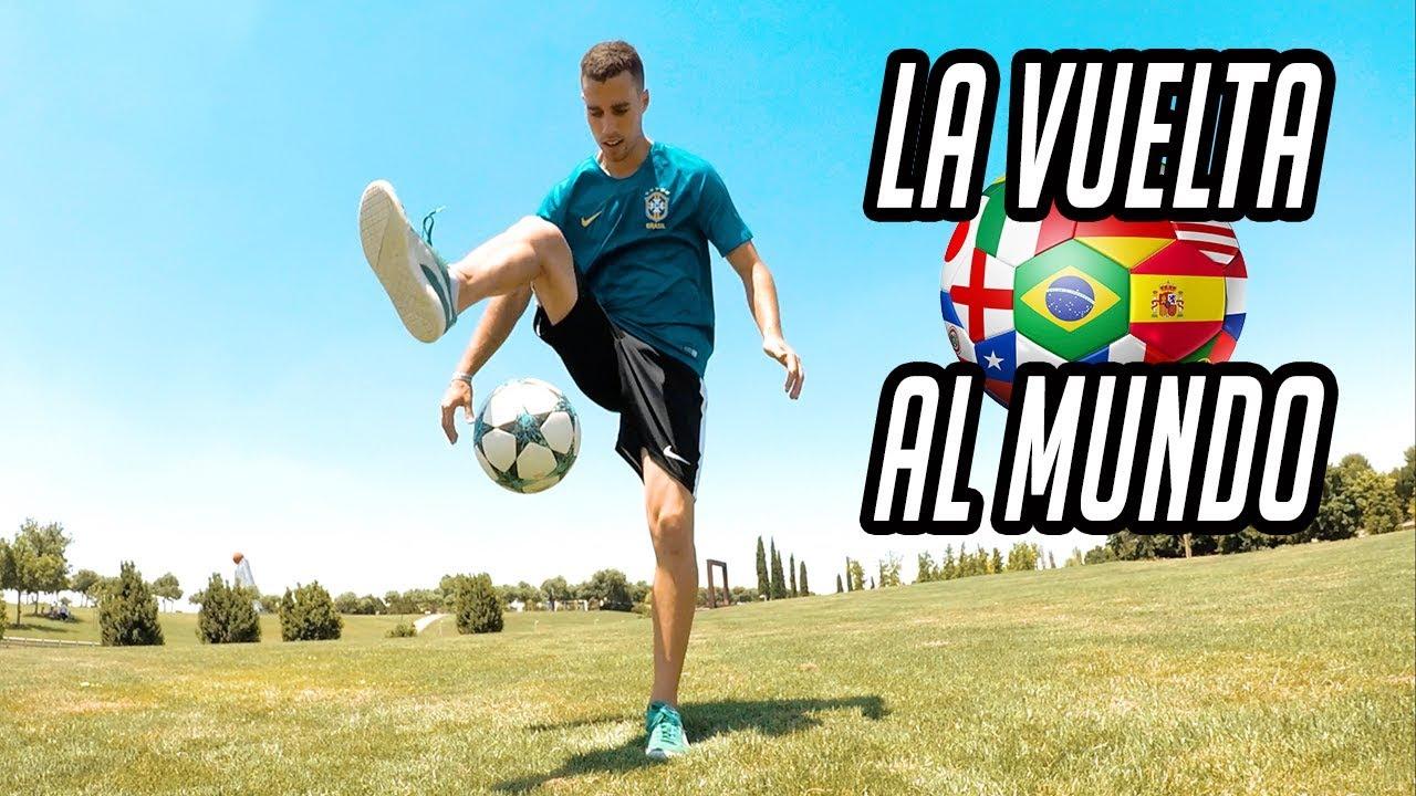 Aprende La Vuelta Al Mundo En 3 Simples Pasos Trucos De Futbol Calle Freestyle