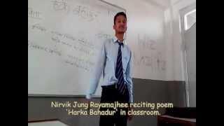 Harka Bahadur(Poem).. - Nirvik Jung Rayamajhee