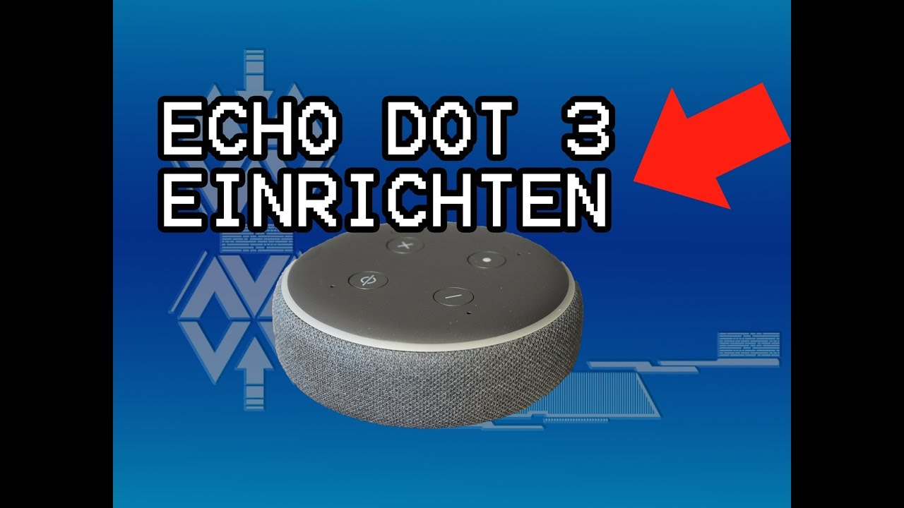 AMAZON ECHO DOT 10 EINRICHTEN. 🆗 INSTALLIEREN 10. GENERATION