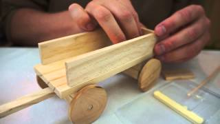 Wood Craft - Asmr