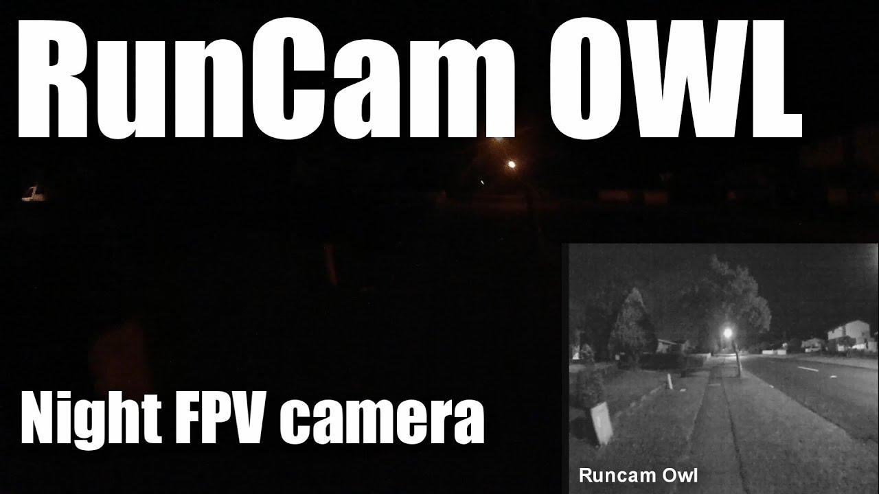 RunCam OWL 700TVL low-light FPV camera