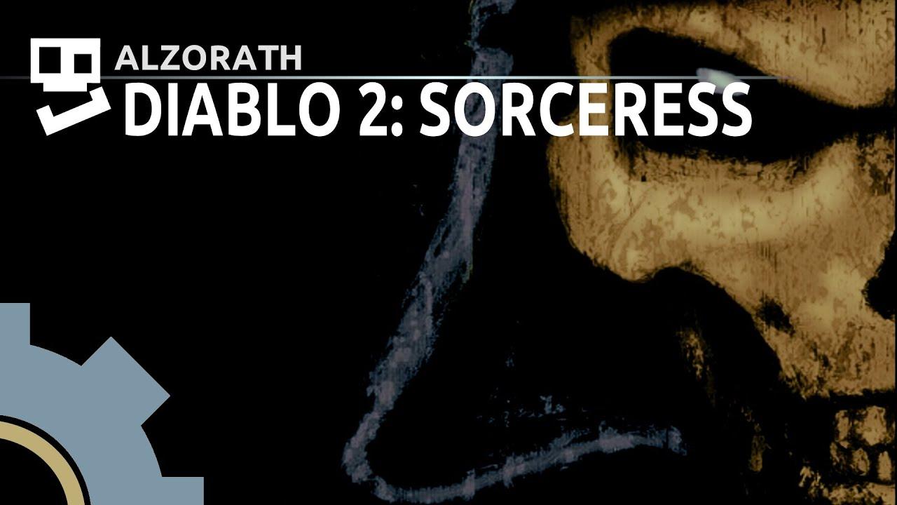 Diablo 2 Lord Of Destruction 4 Chill Andariel Sorceress