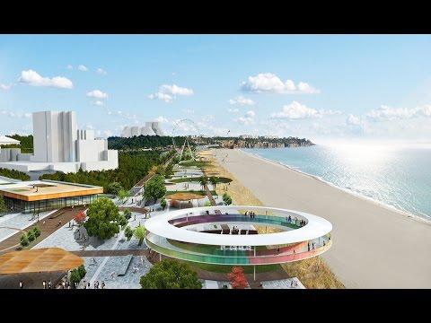 Konyaalti Sahil Projesi / Konyaalti Beach Project / Проект Нового Пляжа Коньяалты.