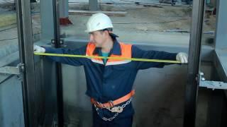 видео монтаж пассажирских лифтов