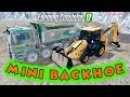 Mini JCB 3CX Backhoe Tractor & 2 New Trucks - Farming Simulator 2017 Mods