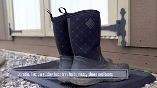 Rubber Boot Trays