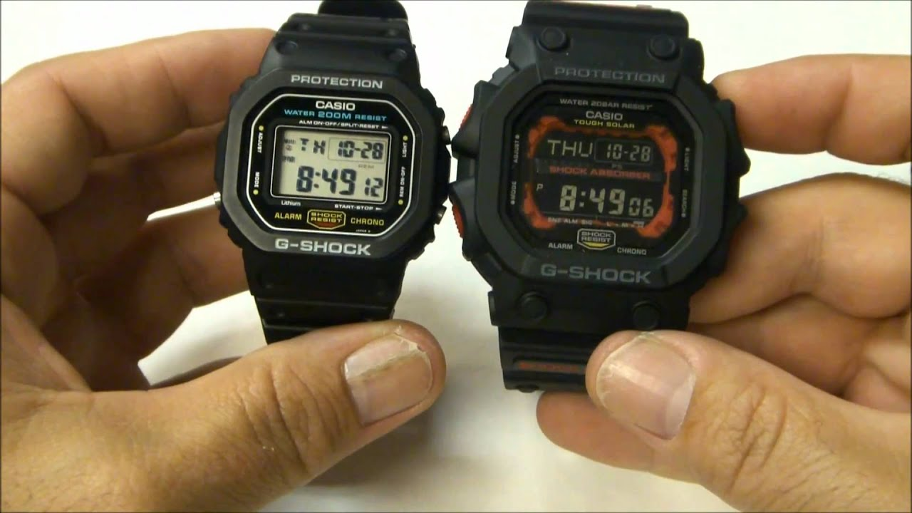 556d12342 Video Review of Casio G-Shock GX56-1A