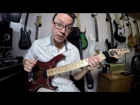 Quick Lick - G minor Economy Picking Run (advanced)