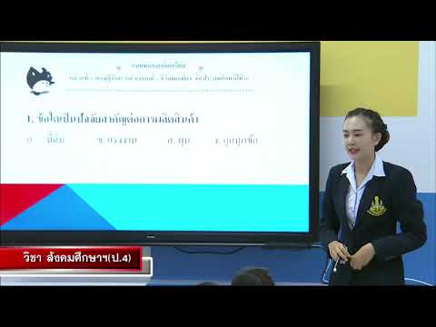 DLTV มูลนิธิการศึกษาทางไกลผ่านดาวเทียม 3-สังคมศึกษาฯป.4