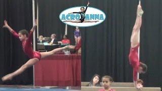 Annie the Gymnast   USAG New Level 5 Gymnastics Meet 3   Acroanna