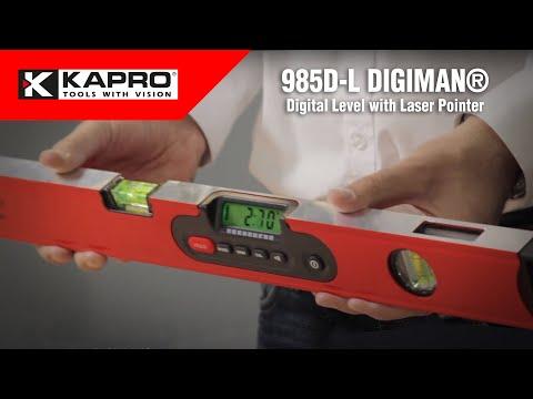 985D-L DIGIMAN® - Digital Level with Laser Pointer