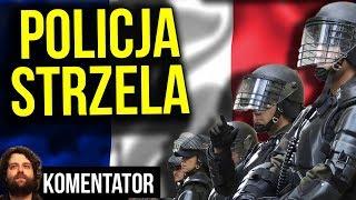 Policja we Francji Strzela do Demonstrantów bo Nie Chcą Wysokich Podatków - Analiza Komentator