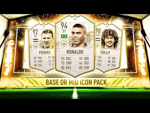 THIS IS WHAT I GOT IN 10X BASE OR MID ICON PACKS! #FIFA21 ULTIMATE TEAM
