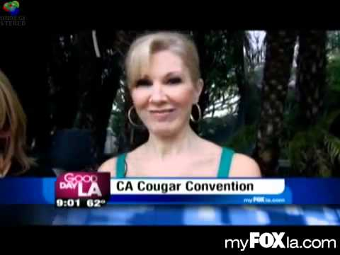 Cougar Channel:  Cougar Expert Lucia on Good Day LA, Fox 11