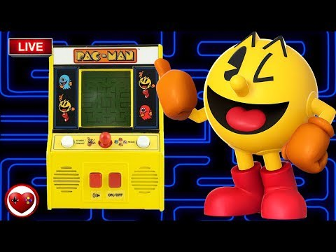 Pac Man Mini Arcade Game Toys R US Unboxing - Live Directo My Video Games World