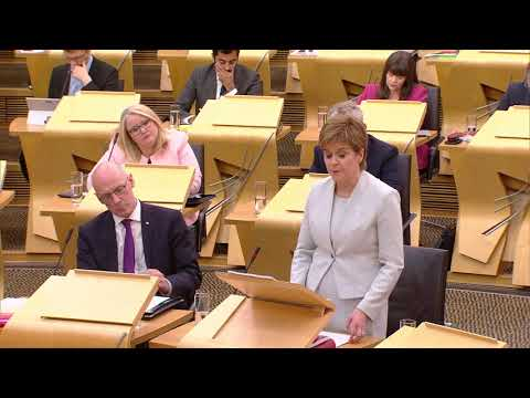 First Minister Statement: Scottish Government's Programme for Government 2017-18 - 5 September 2017