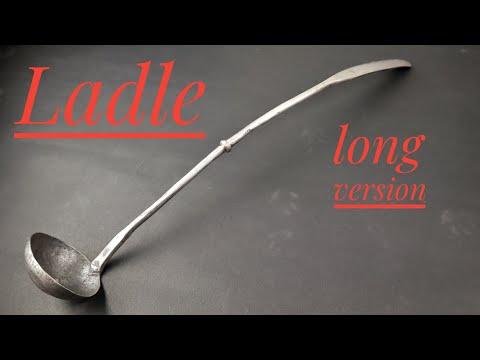 Forging a ladle - long version