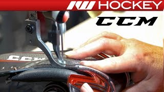 How CCM JetSpeed FT1 Skates are Made - Pro Skate Factory Tour