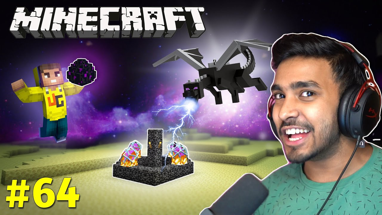 Download RESPAWNING THE ENDER DRAGON   MINECRAFT GAMEPLAY #64
