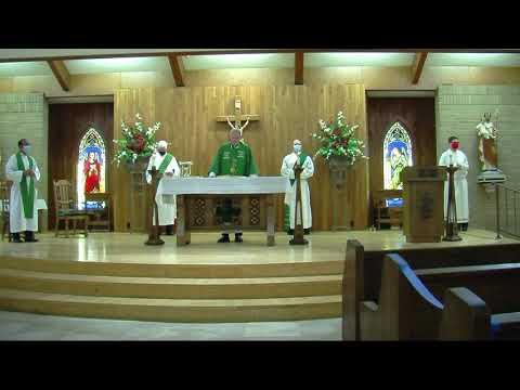 Sacred Heart Catholic Church Morrilton, Arkansas - Mass of the Eighteenth Sunday of Ordinary Time