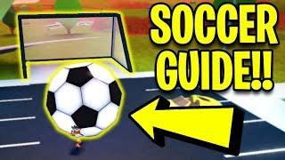 Jailbreak SOCCER BALL CHALLENGE *GUIDE*! (How To Get SOCCER RIMS FASTEST METHOD!)   Roblox Jailbreak