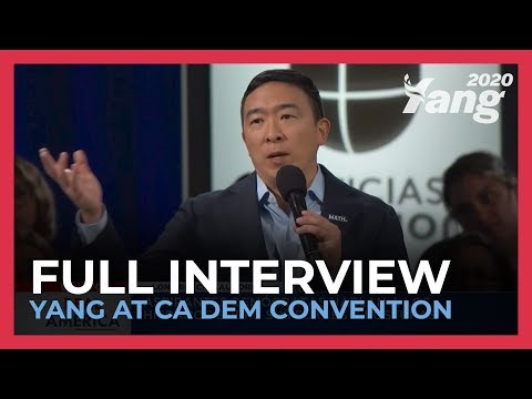Andrew Yang - 'It's Time for Facebook to Grow Up'