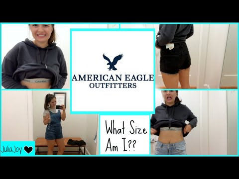 Size 6 Girl Tries On American Eagle • What Size Am I?