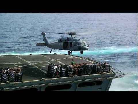 MSC UNREP: USS Enterprise (CVN 65) and USNS Supply (T-AOE 6) #3