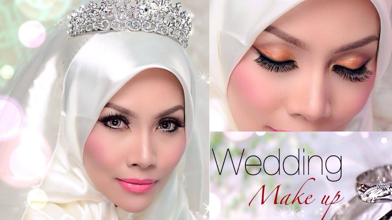 Wedding Day Make Up - Sendayu Tinggi Make-up Tutorial ...