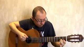 Миллион алых роз - на гитаре (Александр Фефелов)