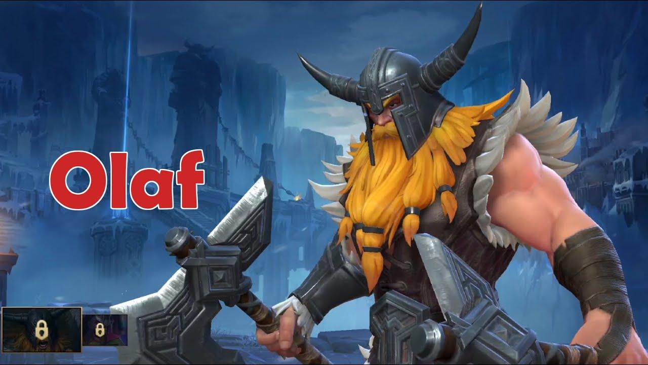 Wild Rift Closed Beta: Olaf (Fighter) Gameplay
