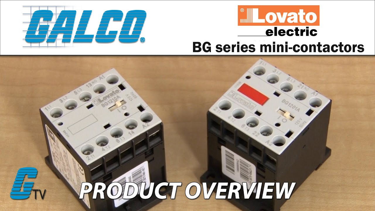 Lovatos bg series mini contactors youtube lovatos bg series mini contactors asfbconference2016 Choice Image