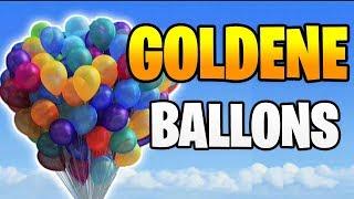 Fortnite: Bringe 10 Goldene Ballons zum platzen - Alle Locations Season 7 Woche 9