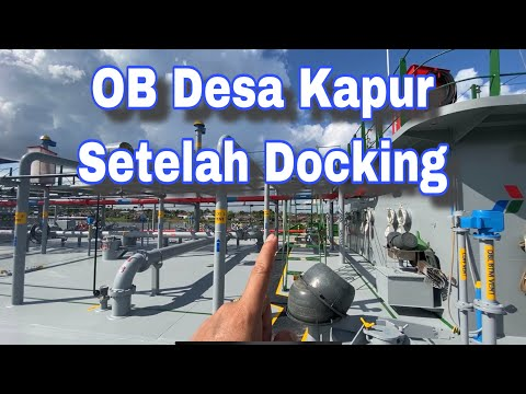 Review Oil Barge pasca docking