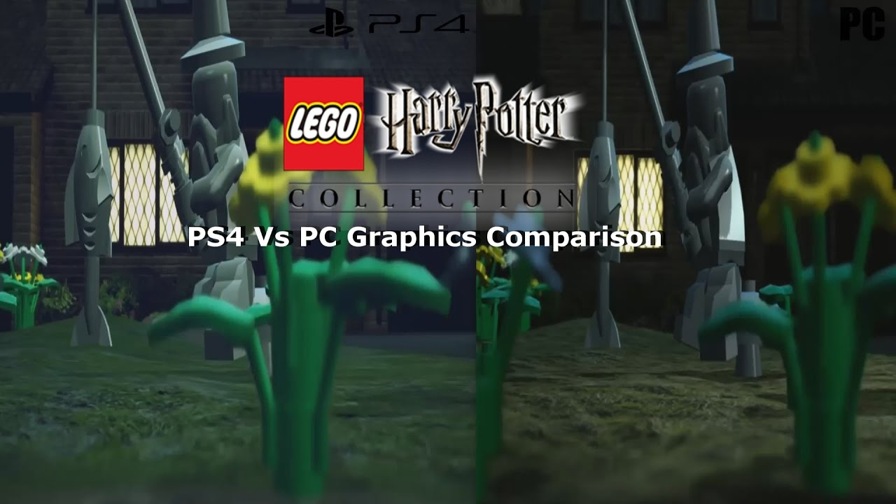 Lego Harry Potter Collection Ps4 Vs Pc Graphics Comparison Youtube