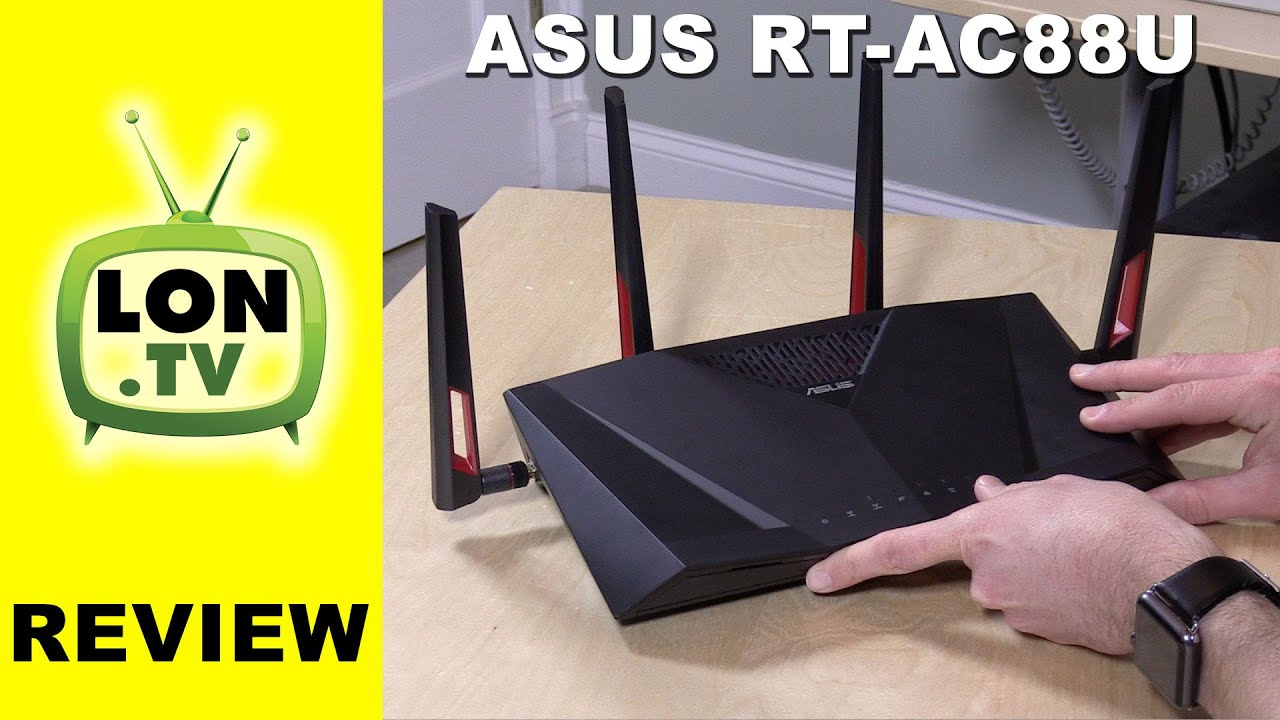 ASUS RT-AC88U Router In Depth Review - YouTube