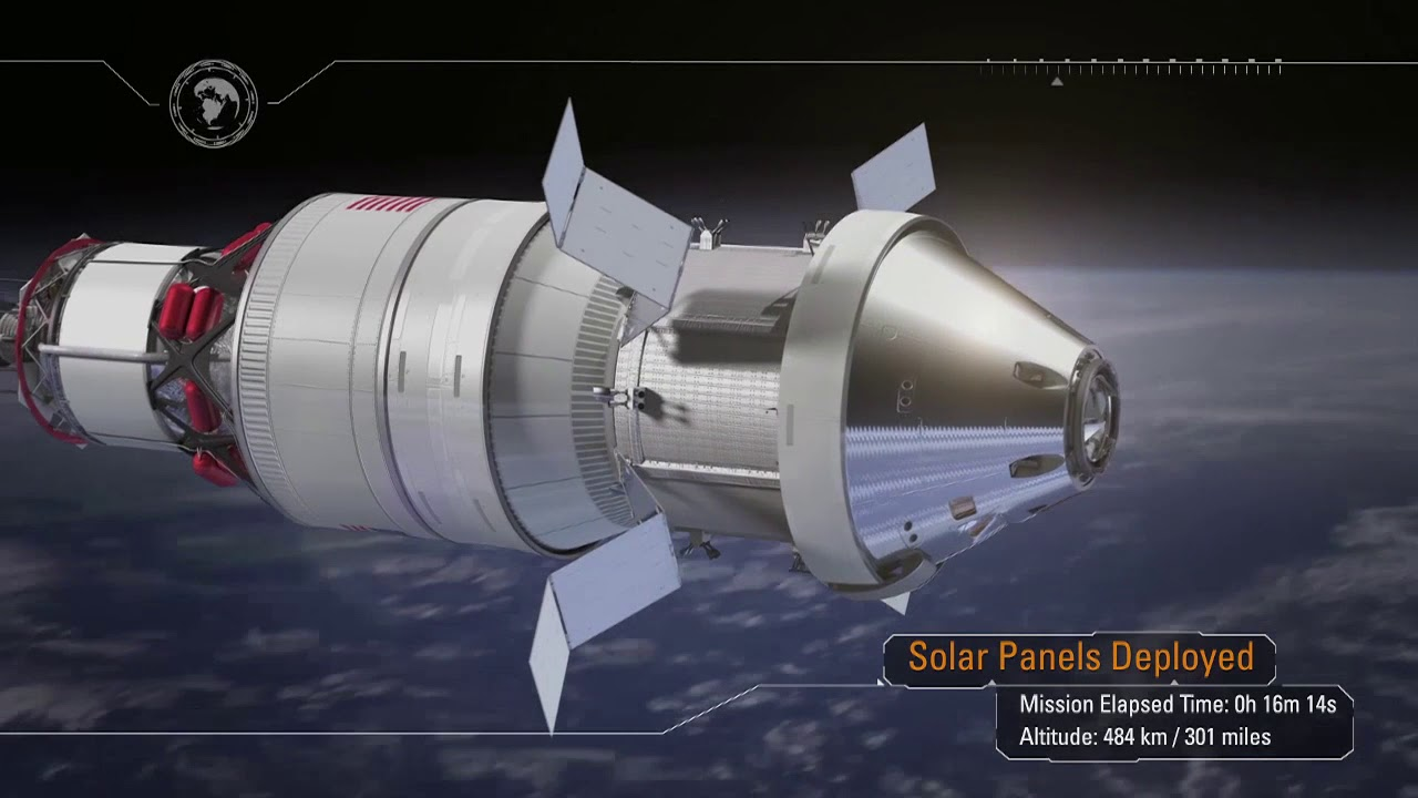NASA | Exploration Mission-1 – Pushing Farther Into Deep ...