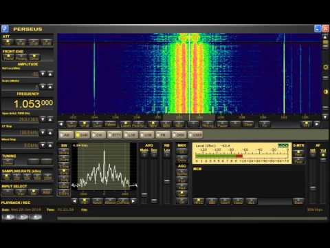 Jammer, South Korea, Jamming in the PYBS, EOU, January 20, 2016, UTC 1021, 657,1053 and 1080kHz, AM