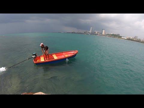 មុជទឹកបាញ់ត្រី   Funny Sport On the Island - Catch & Cook - Ep 54