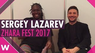Sergey Lazarev at Eurovision 2018 for Russia? (Zhara Fest interview)