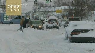 Massive snowstorm hits Buffalo, New York