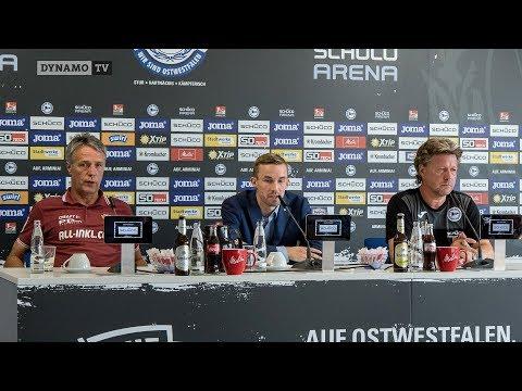 2. Spieltag | DSC - SGD | Pressekonferenz nach dem Spiel