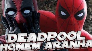 Um filme do deadpool com homem aranha #nerdresponde