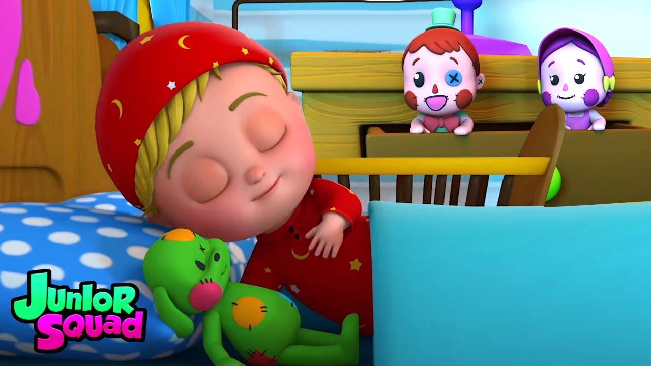 Oyuncaklar hayat buluyor zaman | Bebek şarkıları | Junior Squad Türkçe | Eğitim karikatürler