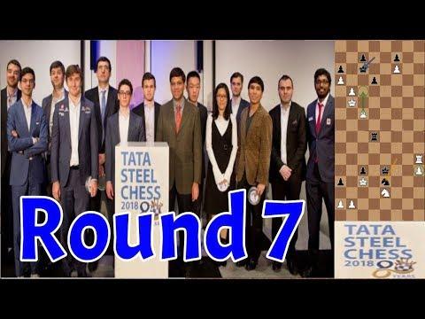 Tata Steel 2018   Destaques e Comentários do Round 7