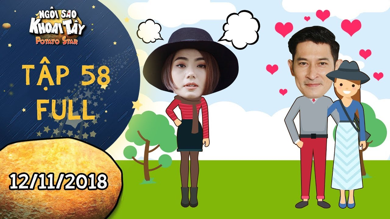 Ngôi sao khoai tây |tập 58 full: Trần Sơn bị đuổi khỏi nhà vì Thúy An bắt gặp léng phéng với tình cũ