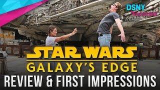 THE VLOG of STAR WARS GALAXY'S EDGE - DSNY Newscast VLOG - 6/25/19