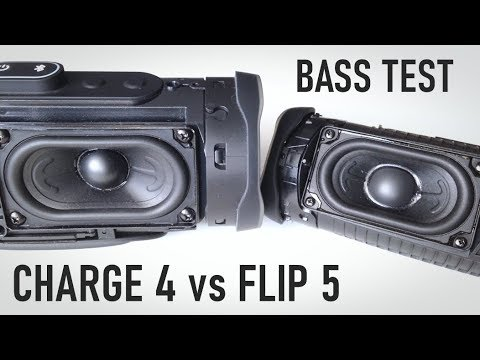 JBL Charge 4 vs JBL Flip 5 Bass Test